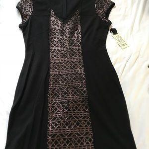 Black sequined lbd